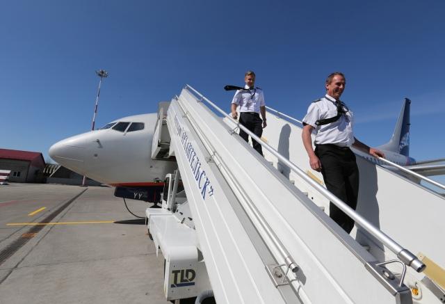 "Boeing 737-700 авиакомпании ""Нордавиа"""