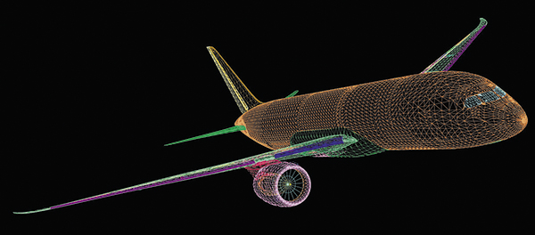 Суммарный объем цифрового макета Boeing 787 составляет около 16 Тбайт // Boeing