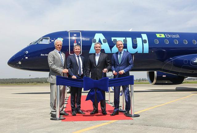 Первый Embraer E195-E2 передан заказчику