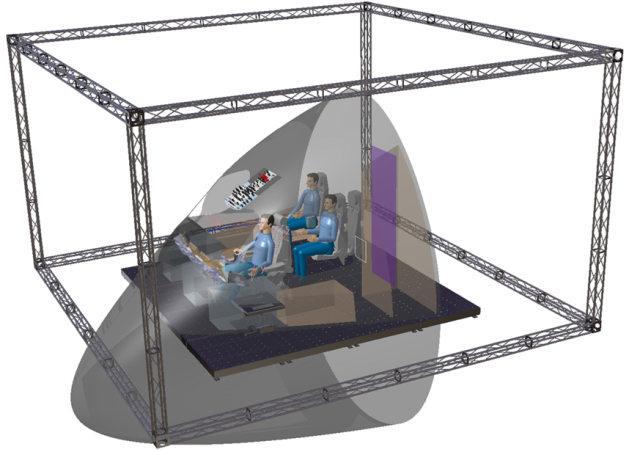 Виртуальный макет кабины ВС