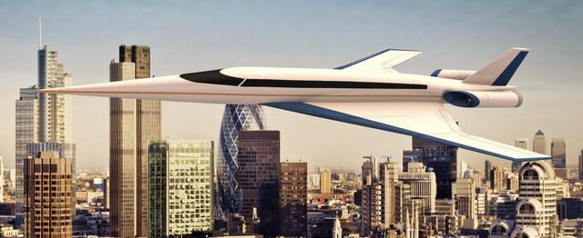 Компьютерная модель самолета Spike S-512
