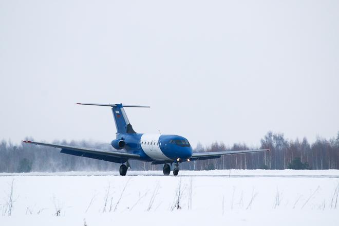 СибНИА приступил к испытаниям двухдвигательного Як-40