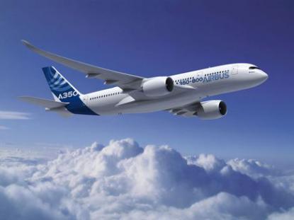 Airbus заморозил программу самолета Airbus A350-800