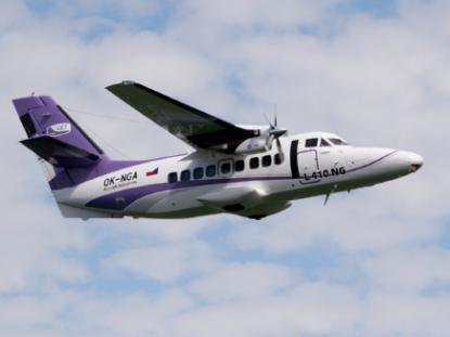 Модернизированный самолет L-410NG совершил первый полет