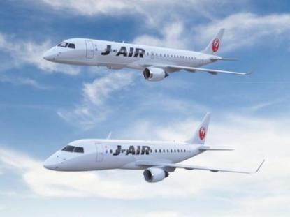 Региональное подразделение авиакомпании JAL получит 59 Embraer E-Jet и MRJ
