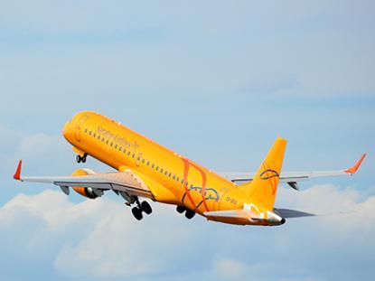 """Не в последнюю очередь авиакомпания показывает рост за счет эксплуатации двух E195 // """"Саратовские авиалинии"""""""