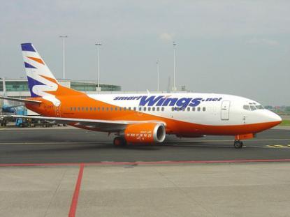 Лоукостер Smart Wings запросил разрешение летать между Прагой и Москвой