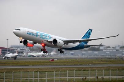 A330neo в полете