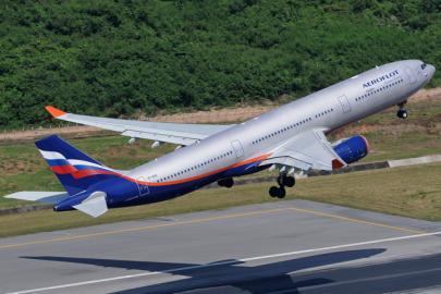 "Самолет Airbus A330 авиакомпании ""Аэрофлот"""