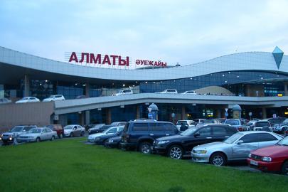 Терминал в аэропорту Алма-Аты