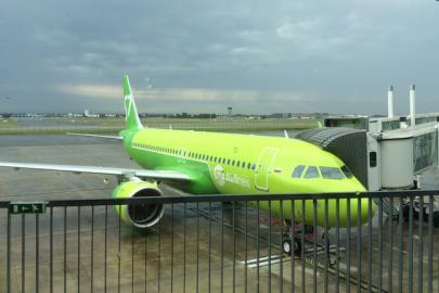 Самолет A320neo авиакомпании S7 Airlines