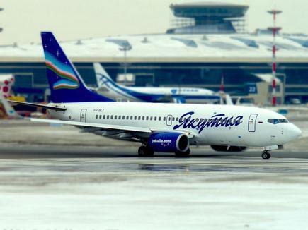 Самолет Boeing 737-800 авиакомпании'Якутия задержан за долги