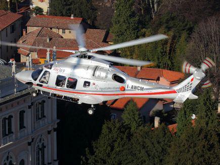 Вертолет AgustaWestland AW169 сертифицирован EASA