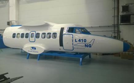Aircraft Industries показала макет нового самолета L-410 NG