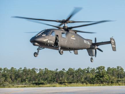 Вертолет Sikorsky S-97 совершил первый полет