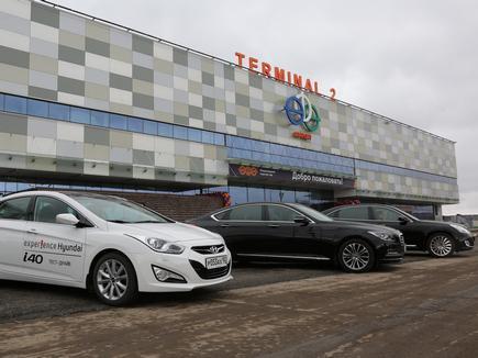 В аэропорту Уфы открылся реконструированный международный терминал