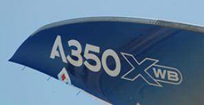 Airbus A350-900XWB перед первым полетом