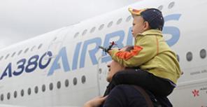 Airbus A380: 10 лет с первого полета
