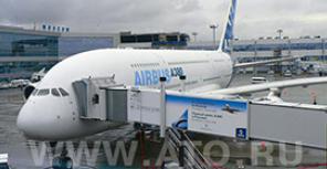 ФОТОотчет о первом пребывании A380 в Москве