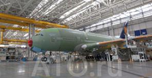 Производство и штаб-квартира Airbus в Тулузе