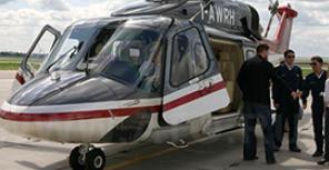Полетная презентация вертолета AW139