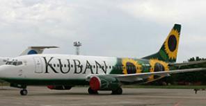 "Boeing 737-300 авиакомпании ""Кубань"""