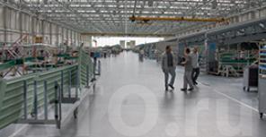 Заводы по сборке бизнес-джетов Dassault