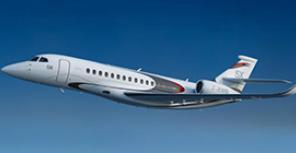 Dassault Aviation представила бизнес-джет Falcon 5X
