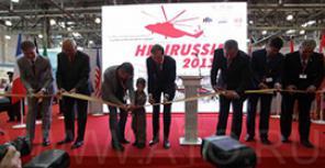 HeliRussia 2013: вертолеты во всей красе