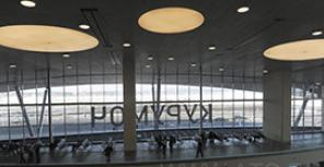 Новый терминал аэропорта Курумоч