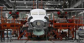Производство L-410 в Куновице