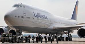 Lufthansa получила Boeing 747-8