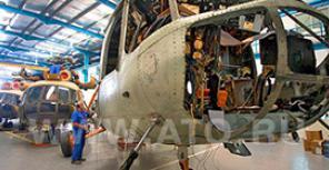 Обслуживание вертолетов МИ в Шардже