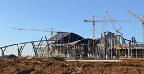 аэропортовый комплекс Южный, Платов