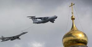 Военный парад в честь Дня Победы