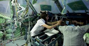 Как собирают самолеты SSJ 100