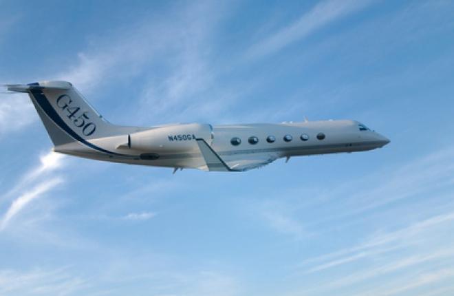 Дальнемагистральный бизнес-джет Gulfstream G450
