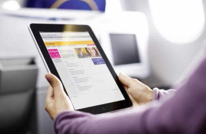 Lufthansa запускает беспроводные развлечения на российских рейсах