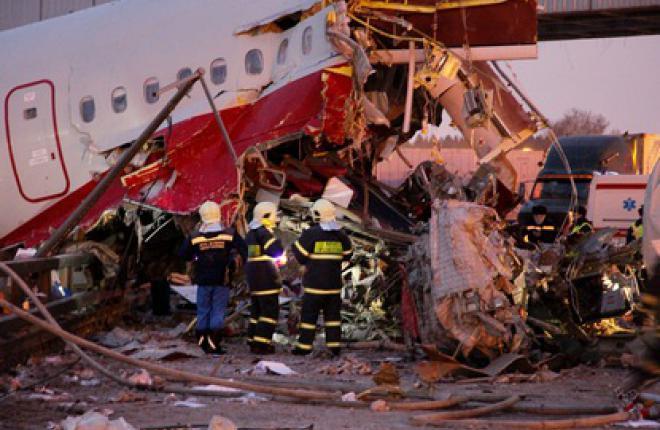 Техническая сторона катастрофы Ту-204