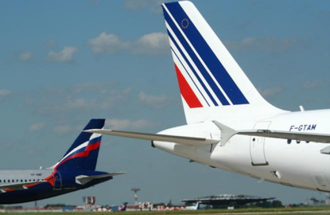 """Аэрофлот"" и Air France"