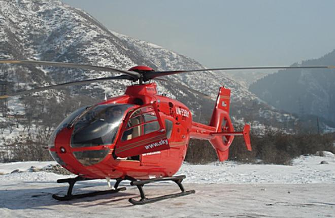 EC135 в Казахстане