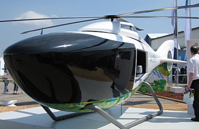 EADS представил концепт первого в мире гибридного вертолета