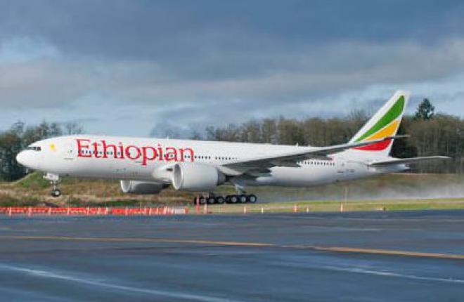 первый Boeing 777 авиакомпании Ethiopian Airlines