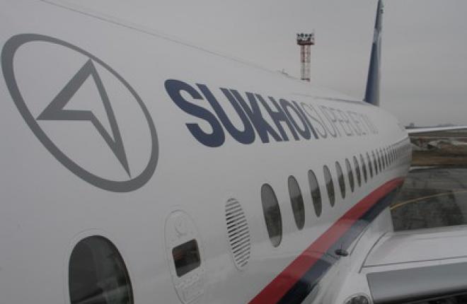 """Поставки самолетов Sukhoi Superjet 100 для """"ЮТэйр"""" начнутся в 2013 году"""
