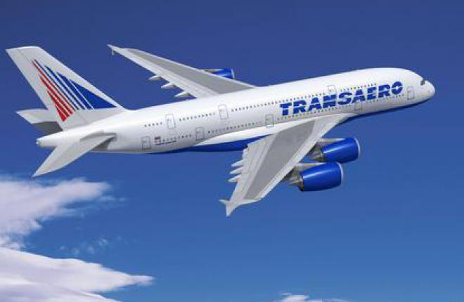 Авиакомпания «Трансаэро» заказывает четыре самолета Airbus А380.