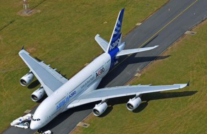 A380 пока на МАКС-2011, но может начать регулярные рейсы в Москву