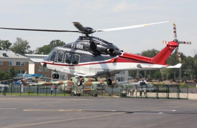 Вертолёт AW139 рассчитан на перевозку 15 пассажиров и используется в качестве корпоративно-транспортного и VIP вертолета