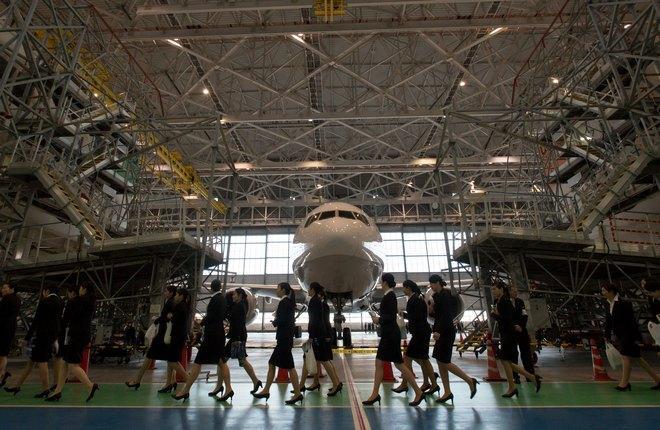 Доля представительниц прекрасного пола составляет лишь 3% от общего количества пилотов в мире :: Transport-Photo Images via Global Look Press via ZUMA Press