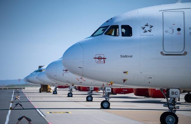 Самолеты Austrian Airlines
