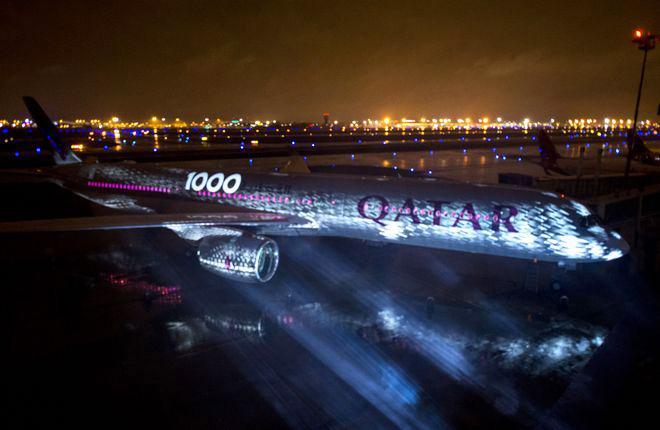 Авиакомпания Qatar получила не только самый вместительный, но, возможно, и самый комфортный самолет A350